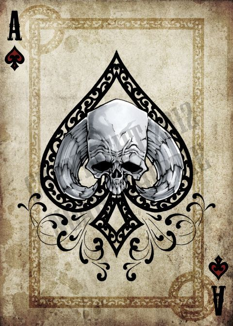 Ace Of Spades Card Designs Google Search ♦♣♥♠ C Rd Ideas And Designs