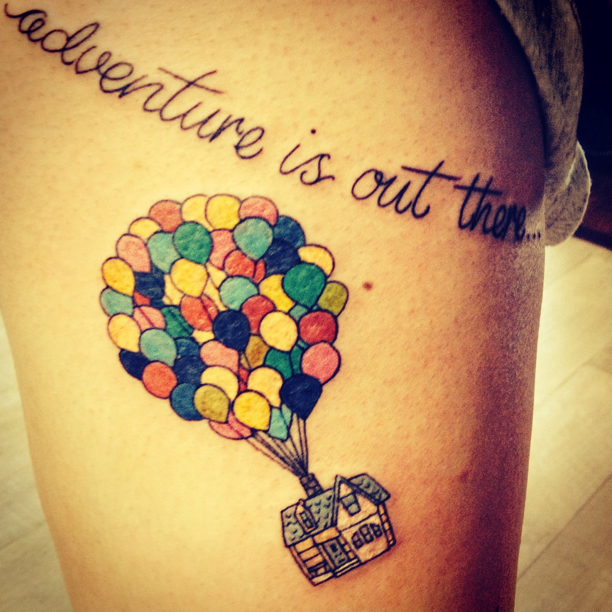 Up Disney Tattoo Adventure Is Out There Things To Ideas And Designs