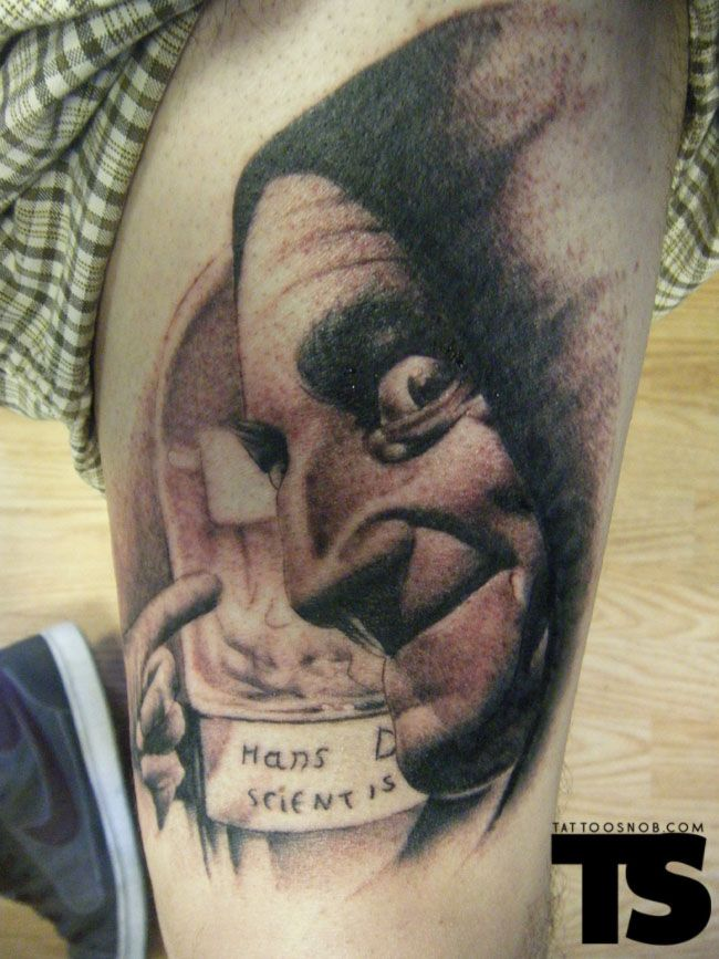 Marty Feldman As Igor In Young Frankenstein Tattoo By Ideas And Designs