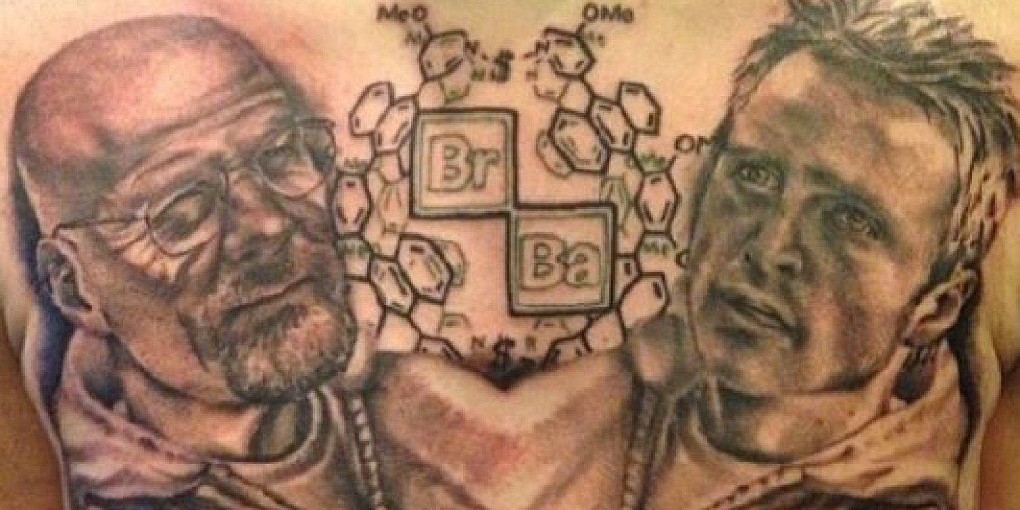 This Breaking Bad Tattoo Is The Mark Of A True Superfan Ideas And Designs