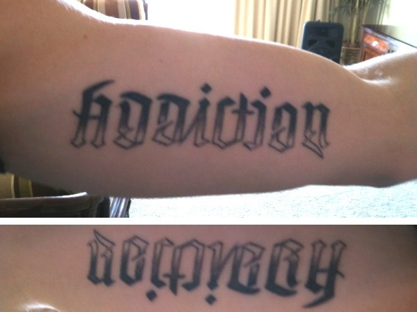 Drug Recovery Tattoos Ideas And Designs