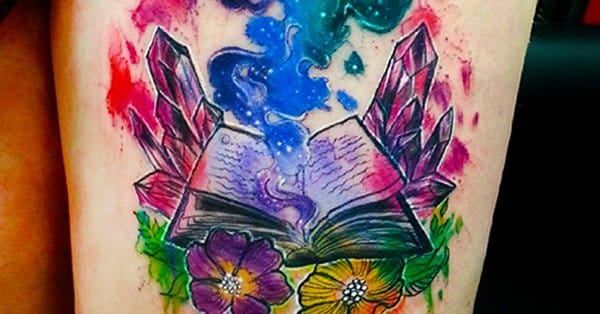 16 Enthralling Book Tattoos For Readers Tattoodo Ideas And Designs