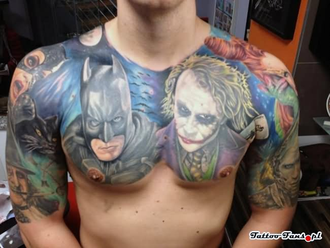 17 Joker Tattoo Designs Ideas Pictures And Images Ideas And Designs
