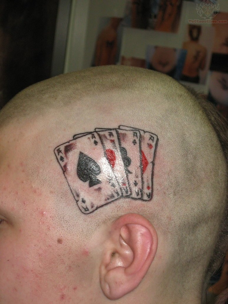26 Unique Ace Tattoo Images And Pictures Gallery Ideas And Designs