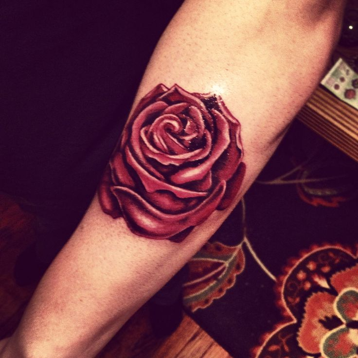 24 Red Rose Tattoo Images Pictures And Ideas Ideas And Designs