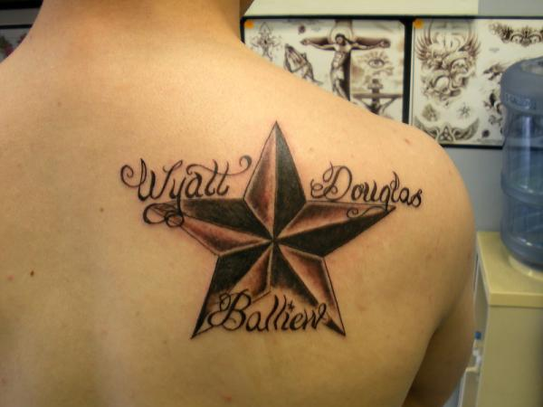 31 3D Star Tattoos Images And Ideas For Men And Women Ideas And Designs