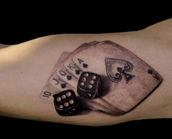 19 Cool Dice Tattoos Ideas And Designs