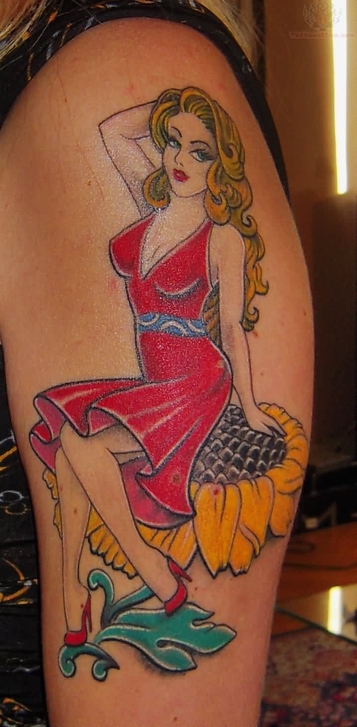 18 Meaningful Pin Up Tattoos Ideas And Designs