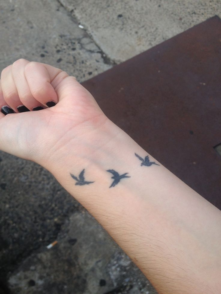 49 Bird Tattoos On Wrist Ideas And Designs