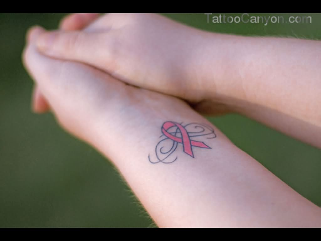 9 Nice Ribbon Tattoos On Wrists Ideas And Designs