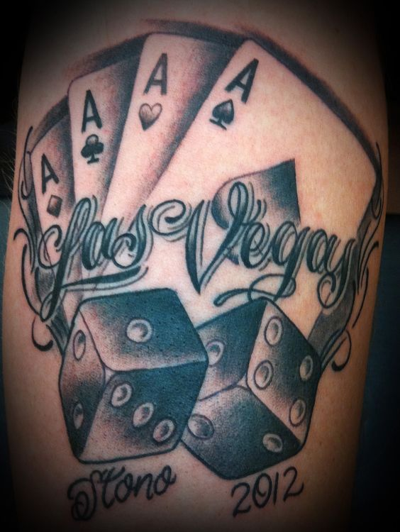 16 Gambling Tattoos On Sleeve Ideas And Designs