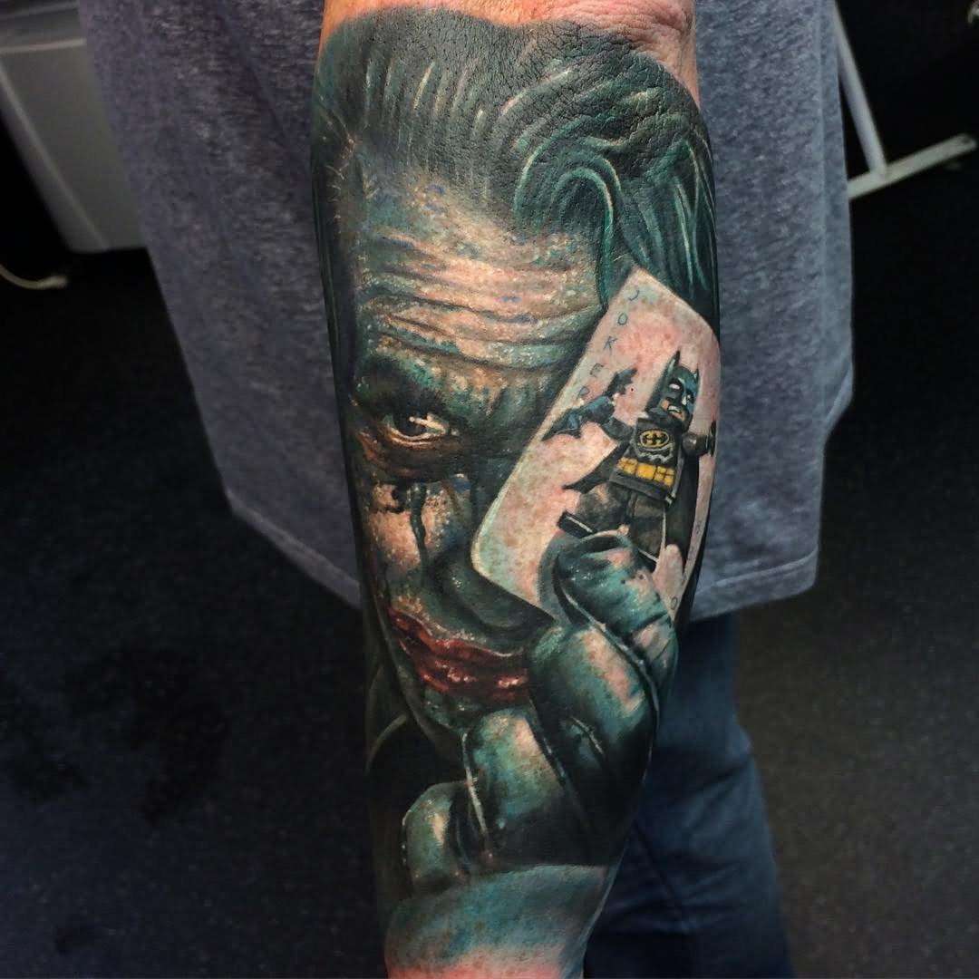 34 Joker Card Tattoos Ideas And Designs