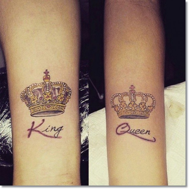 25 Awesome Queen Crown Tattoos Ideas And Designs