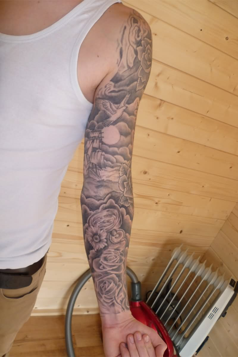 14 Clouds Tattoo Ideas For Sleeve Ideas And Designs