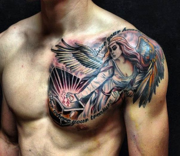 25 Best Chest Tattoos For Men Ideas And Designs
