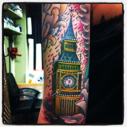 20 Awesome Big Ben Sleeve Tattoos Ideas And Designs