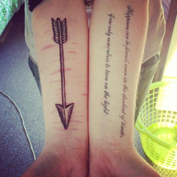 55 Incredible Arrow Tattoos Ideas And Designs