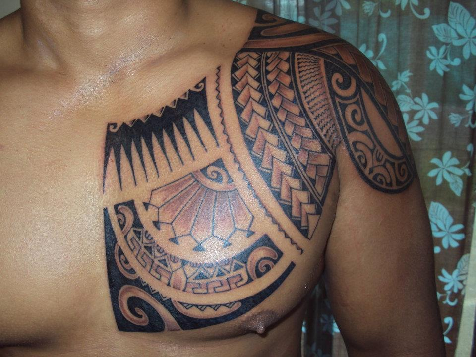 45 Tribal Chest Tattoos For Men Ideas And Designs