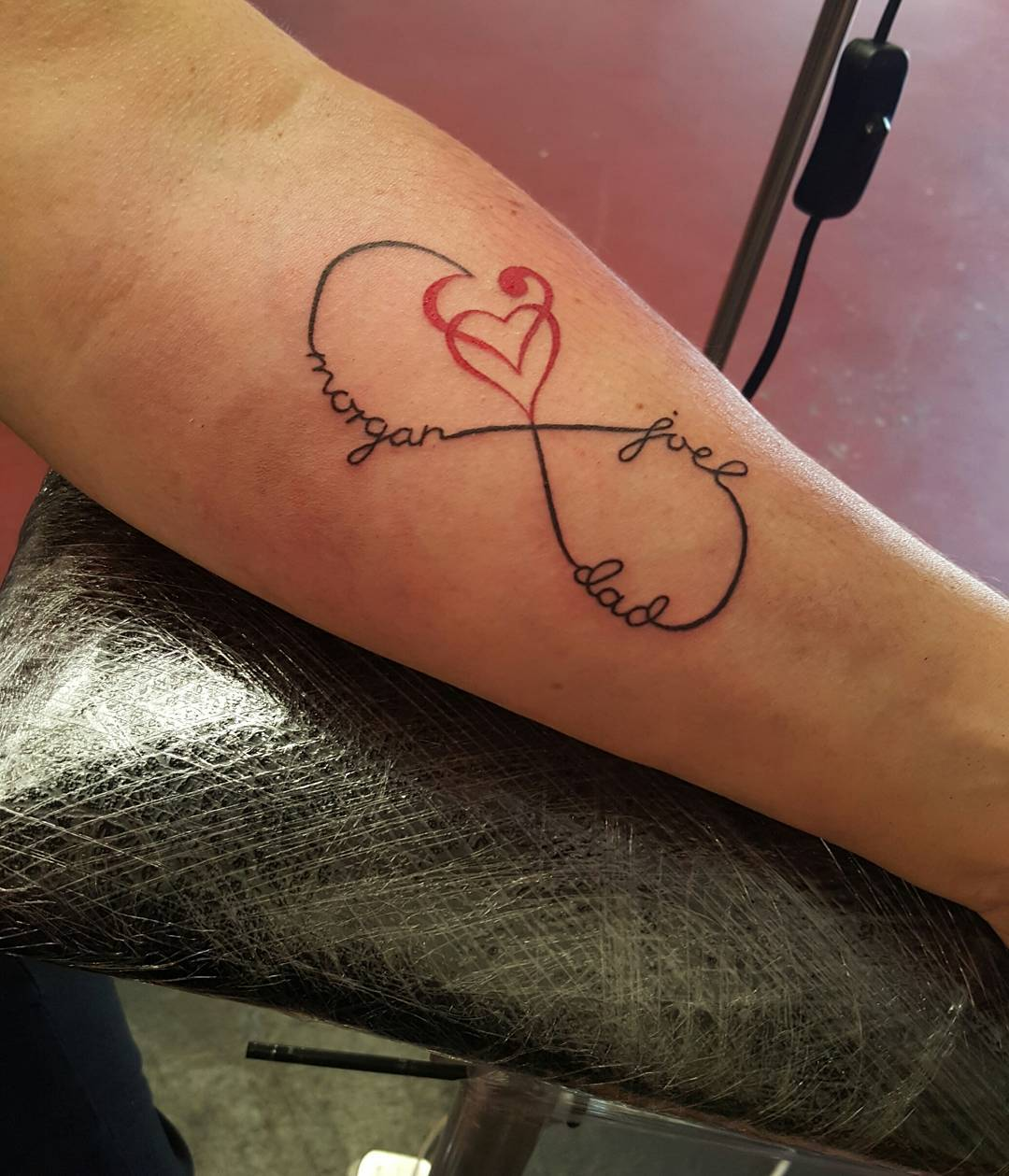 46 Heart Infinity Symbol Tattoos Ideas And Designs