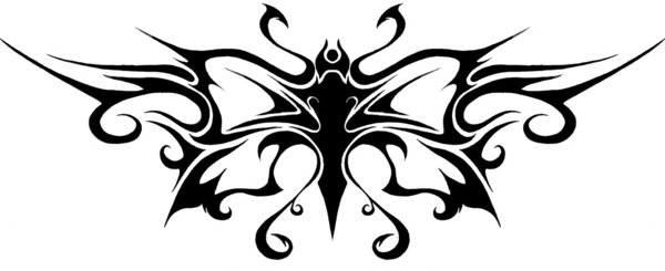 45 Tribal Butterfly Tattoo Designs Ideas And Designs