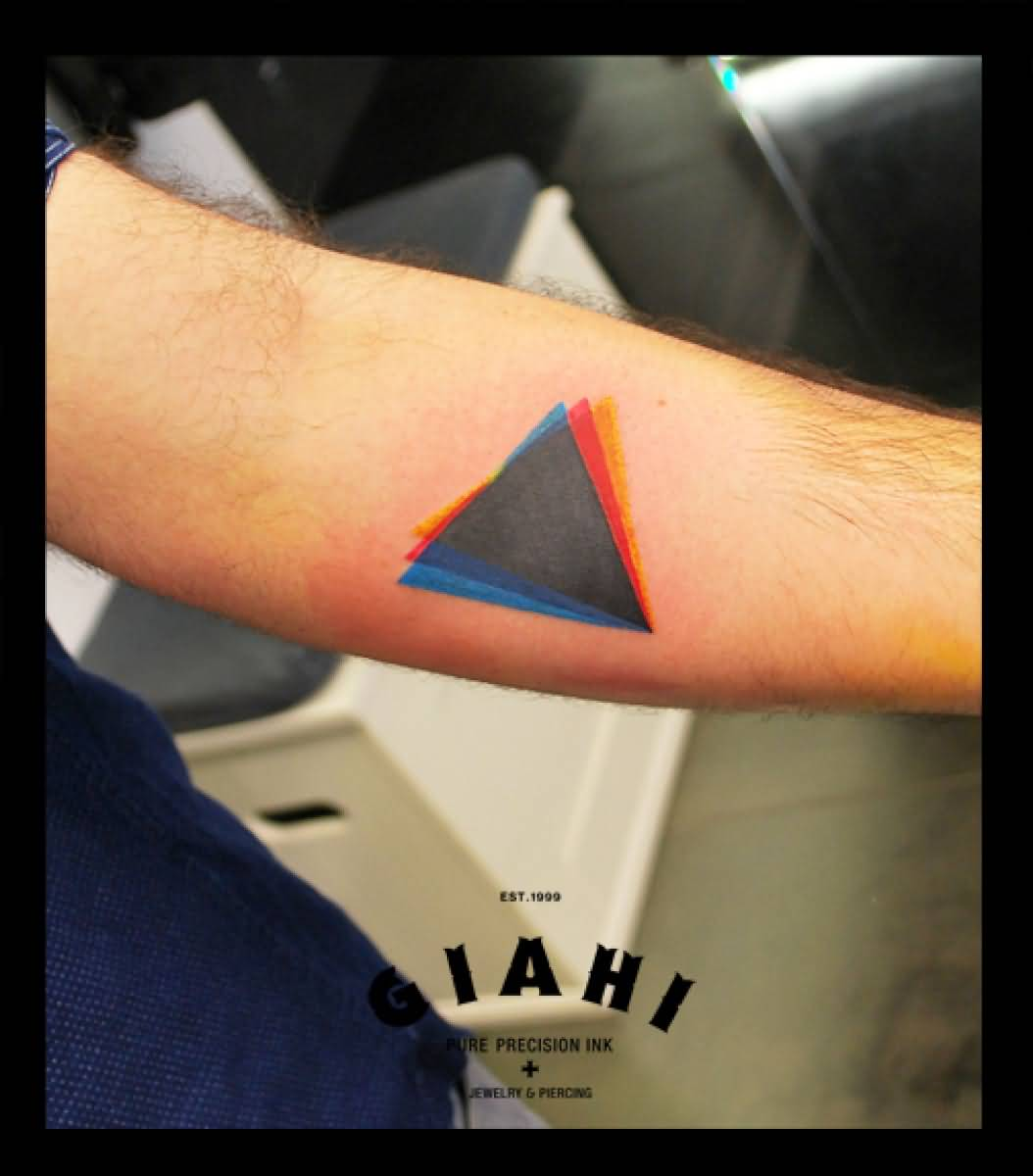 67 Best Triangle Tattoos Ideas Ideas And Designs