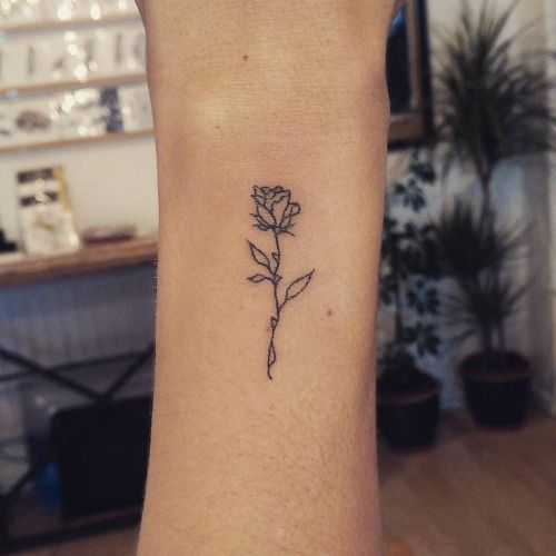 Small Rose Tattoo On Arm Ideas And Designs