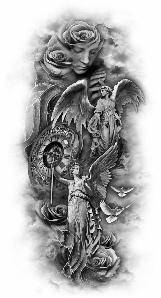 105 Best Angel Tattoos Designs With Meanings Ideas And Designs