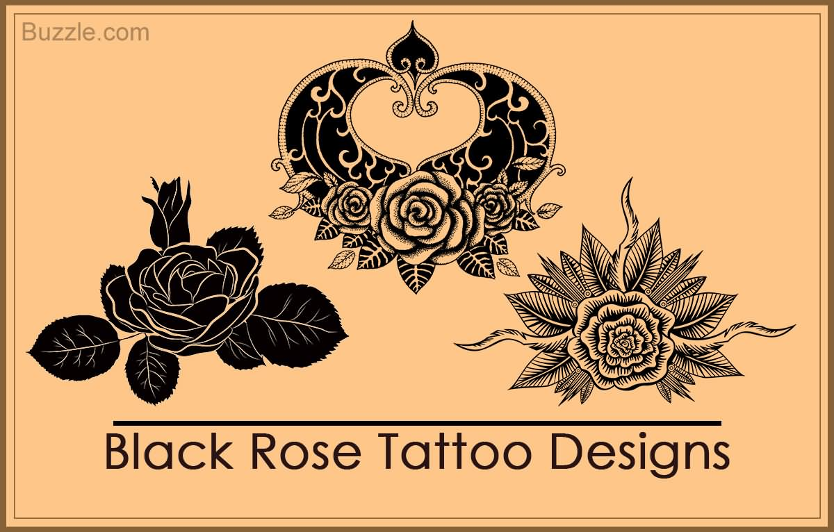 80 Black Rose Tattoos And Design With Meanings Ideas And Designs