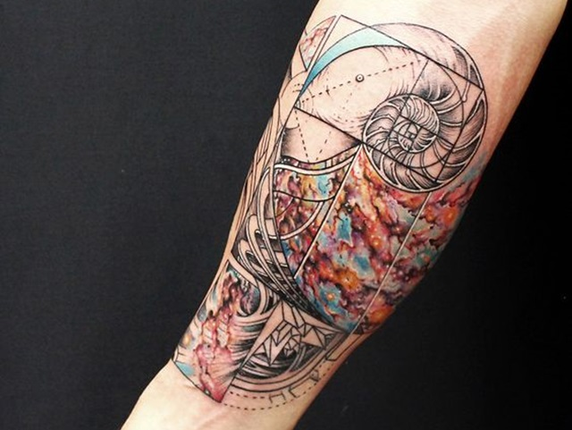40 Incredibly Artistic Abstract Tattoo Designs Ideas And Designs