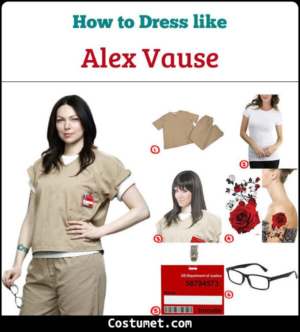 Dress Like Alex Vause From Orange Is The New Black Costume Ideas And Designs