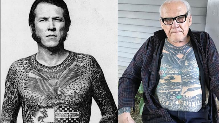 Tattoo Icon Lyle Tuttle Passes Away At 87 Years Old Ideas And Designs