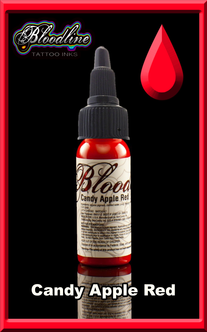 Bloodline Tattoo Ink Candy Apple Red Joker Tattoo Supply Ideas And Designs