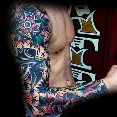 101 Best Rose Tattoos For Men Cool Designs Ideas 2019 Ideas And Designs