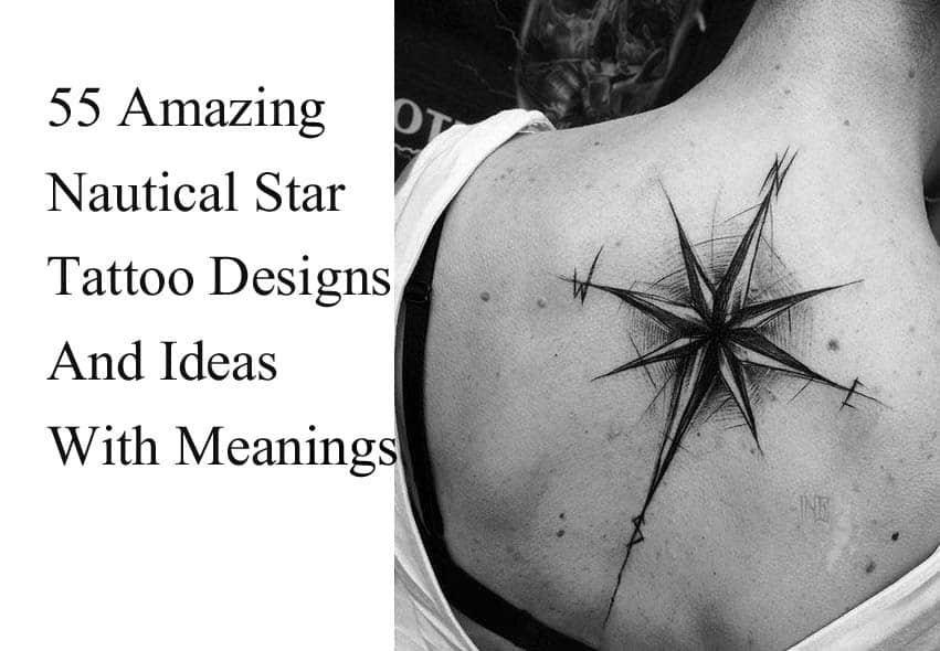 Best nautical star tattoo designs ideas