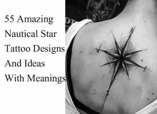 Best nautical star tattoo designs ideas