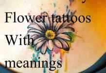 daisy tattoos with meaning
