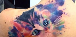 cat tattoos designs ideas girls