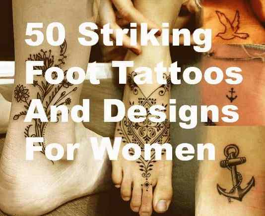 foot tattoo designs and ideas