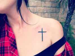 Cross tattoos designs ideas men women best (23)