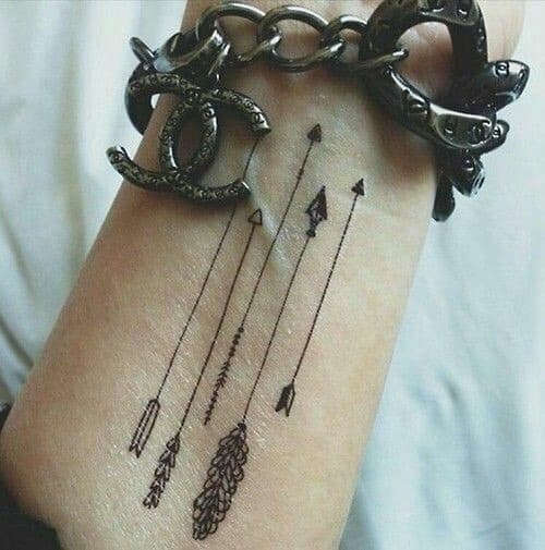 50 best arrow tattoos