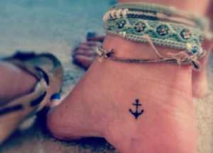 50 Cute And Small Ankle Tattoo Designs And Ideas