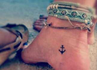 Ankle tattoos desings ideas best girls small (9)