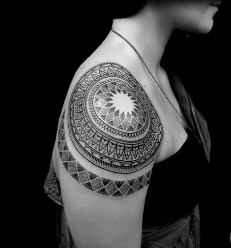 Mandala tattoos designs ideas pictures best awesome cute men women girls (39)
