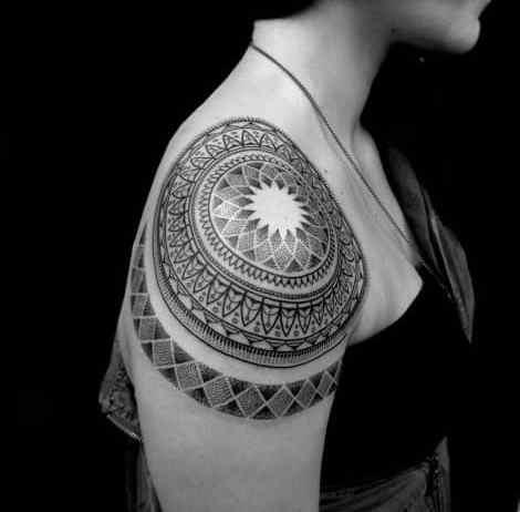 Mandala tattoos designs ideas pictures best awesome cute men women girls (39)