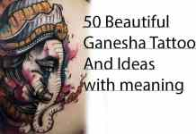 Ganesha tattoos and ideas for men and women