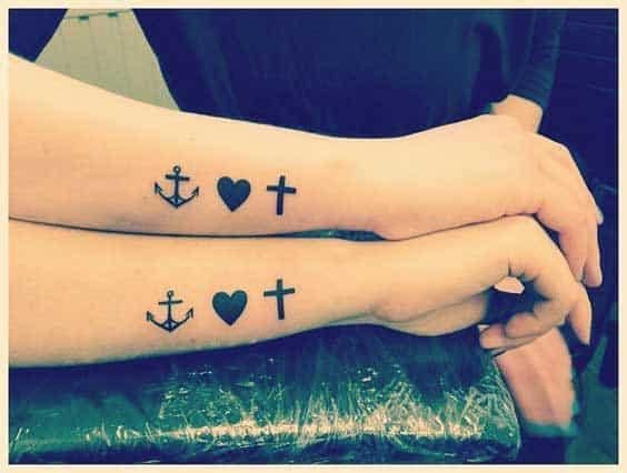 faith hope love symbol meaning