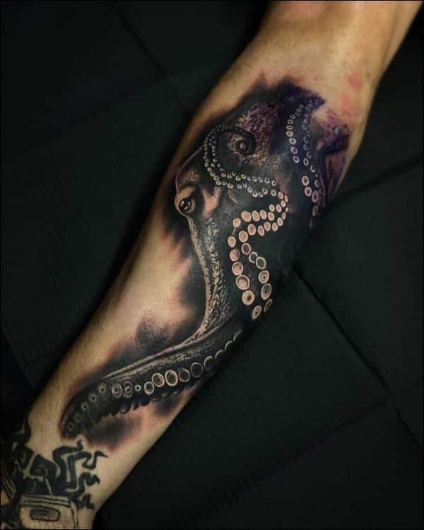best octopus tattoos