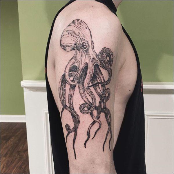 coolest octopus tattoos