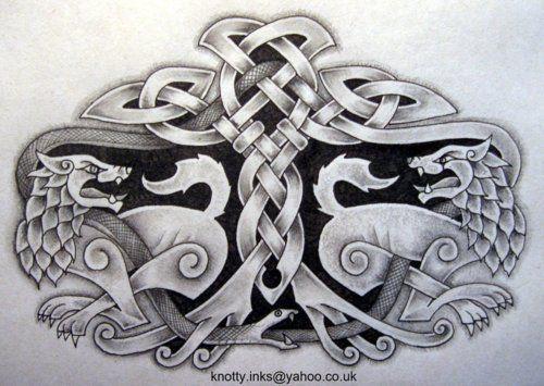 Norse Wallpaper Pattern