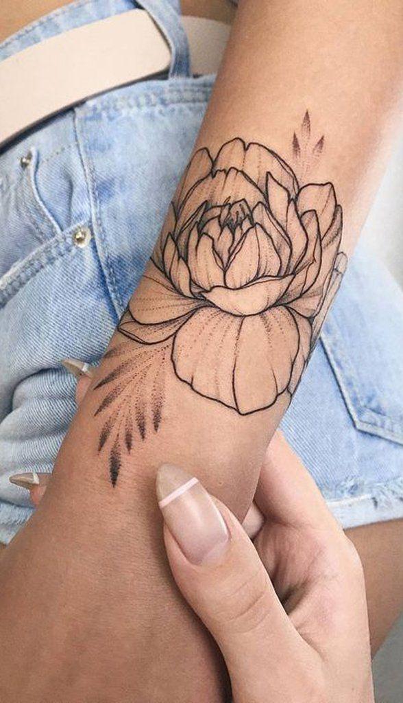 Women Tattoo - 30 Delicate Flower Tattoo Ideas ...